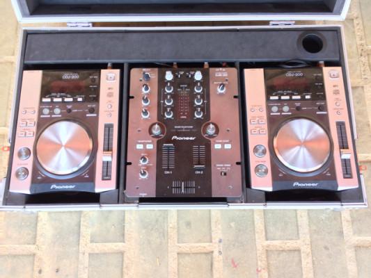 PIONEER djm-250 + cdj200