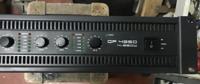 Vendo etapa 4 canales LD Systems DP 4950  4x810 4 ohm