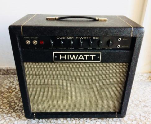 Hiwatt Custom 78 50w(vuelve a la venta)