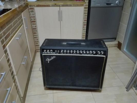 O vendo Fender Super Twin Reverb 1979