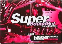Tarjeta expansión SR-JV80-07 SUPER SOUND SET