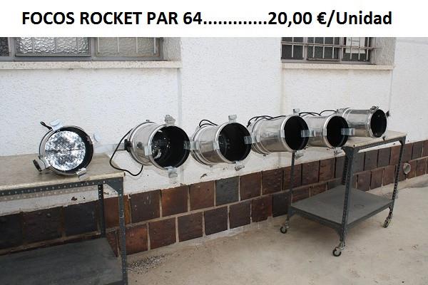FOCOS ROCKET PAR 64 1000W