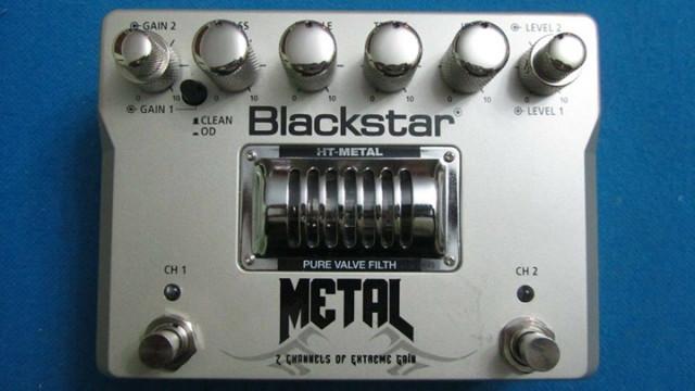 Pedal de distorsión Blackstar HT Metal