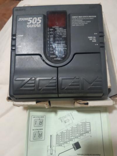Pedalera zoom 505 v1