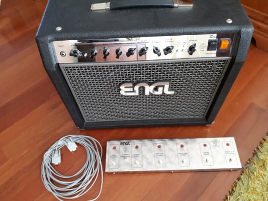 Combo ENGL Screamer 50W (Altavoz Jensen P12N y Tanque Vibroverb)
