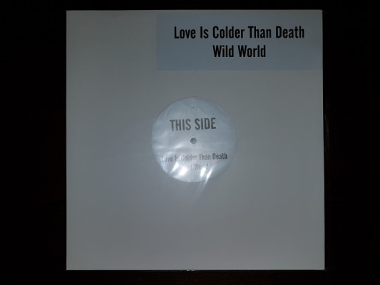 Vinilo Promo LOVE IS COLDER THAN DEATH - WILD WORLD
