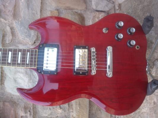 ( o cambio)  guitarra estilo sg