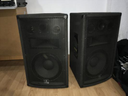 Altavoces PA pasivos Audiophony A12 (pareja)