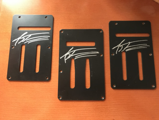 Andy Timmons signed Back Plates