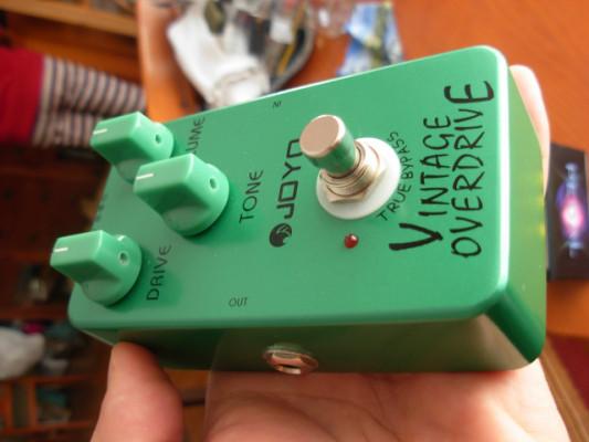 Joyo Vintage overdrive (tubescreamer) Nuevo y Tuneado
