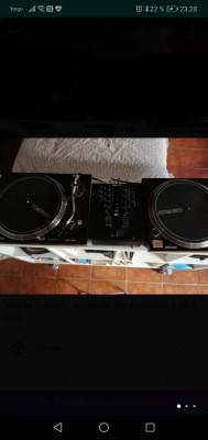 2 RELOOP 4000 MK2+Mesa Numark M2 Nuevos