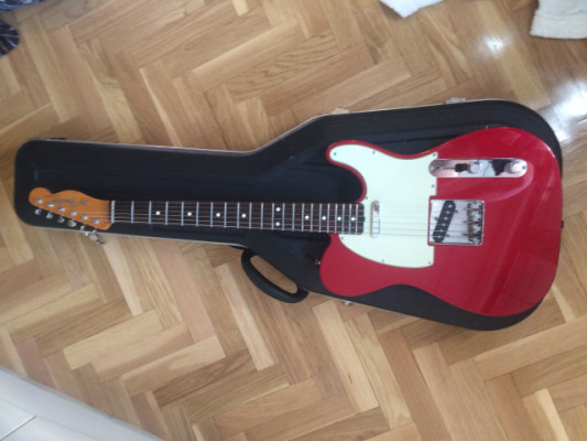 Classic 60s telecaster Candy apple red