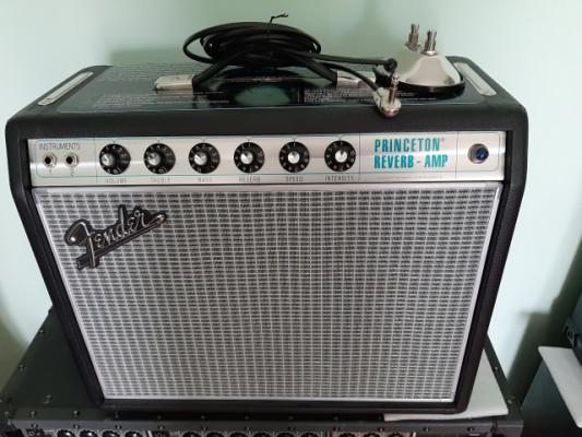 Reservado. Fender 68 Custom Princeton Reverb