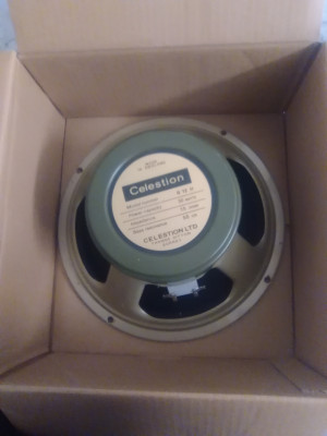 Celestion G12H-55 Made in England 15ohm