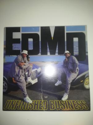 Vinilo hip hop rap EPMD unfinished business