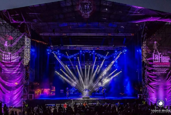 Producción técnica de festivales y giras