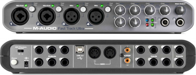 VENDO INTERFACE M-AUDIO FAST TRACK ULTRA