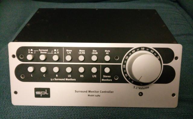 Controlador de monitores SPL SMC 2489