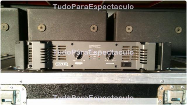 Etapa SYNQ PE-2400 2 x 1200W RMS 4 Ohm
