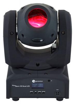 DOS cabezas moviles PicoBeam 30 Quad LED