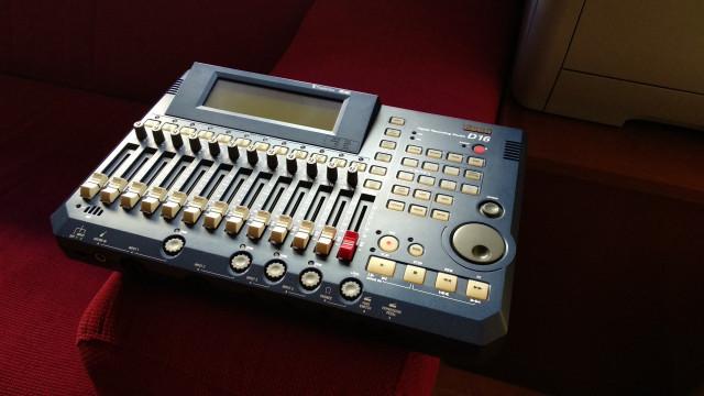 Grabadora digital de estudio Korg D16 - ENVIO INCLUIDO