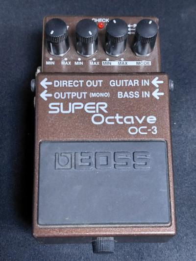 Boss Super Octave OC3