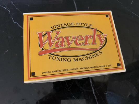 Afinadores Clavijeros 3L 3R Waverly Vintage Gold