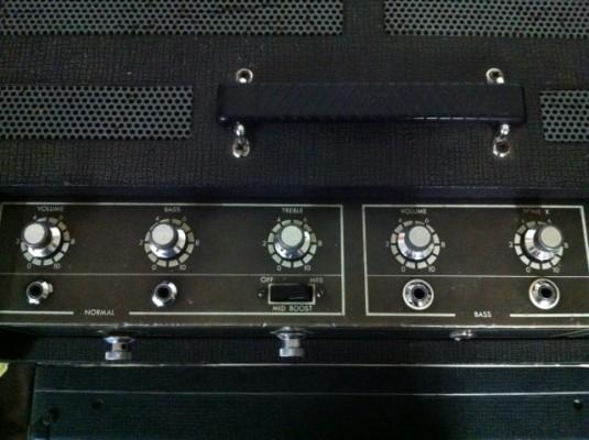 Cabezal Vox Super Foundation bass