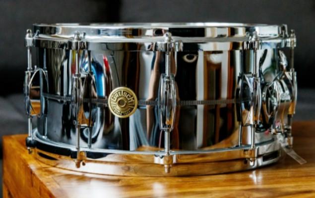 """Gretsch USA custom Chrome over brass 6,5x14"""""""