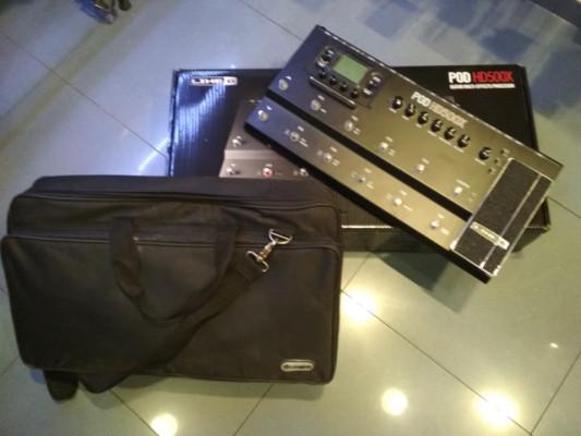 Vendo Nueva Line 6 HD500X + Funda