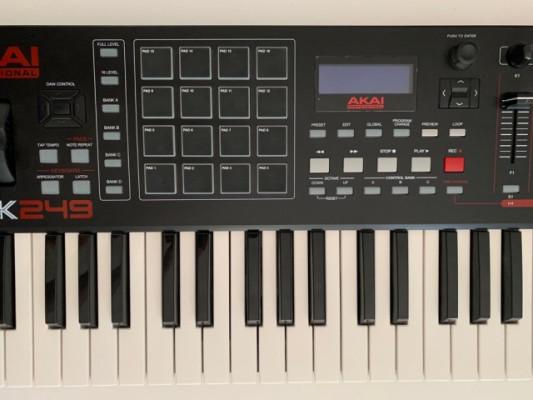 Controlador MIDI AKAI MPK249 - Envío incluído
