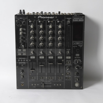 Mesa de mezclas PIONEER DJM-800 de segunda mano E321563