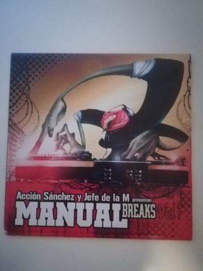 Vinilo hip hop rap Acción Sánchez manual breaks