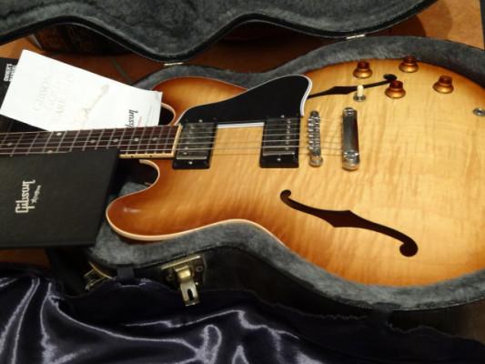RESERVADA Gibson ES-335 Dot Reissue FLB Custom Shop