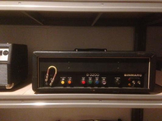 Sinmarc B-3200 (Hiwatt a precio de ganga)