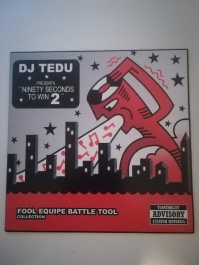 Vinilo hip hop rap Dj Tedu ninety seconds to win 2
