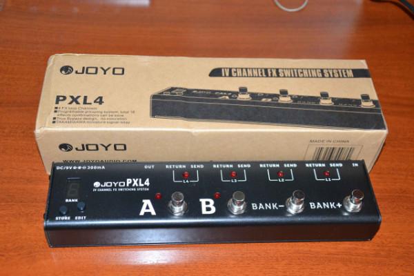 Switcher looper Joyo PXL4
