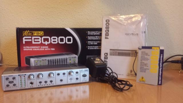 Berhinger MiniMon Mon800 Stereo Monitor Matrix Mixer