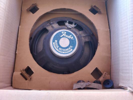 Altavoz 10 Oxford de Fender Princeton (Prinveton Reverb Silverface)