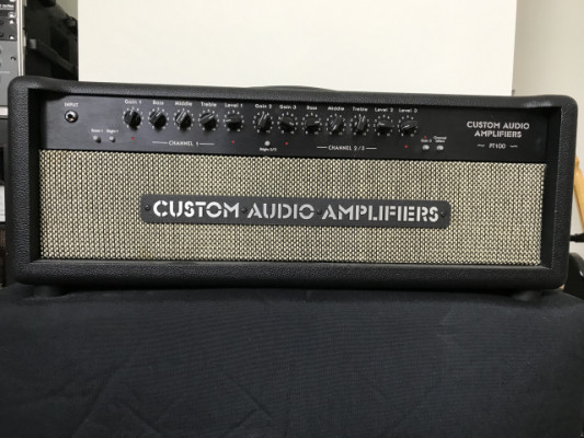 Cabezal Custom Audio Amplifiers PT-100 'Pete Thorn Signature'
