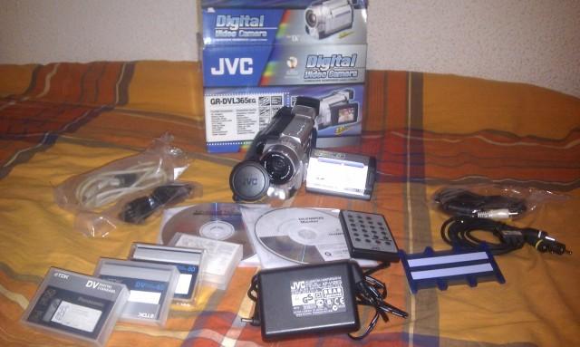 Cambio o Venta: Videocamara JVC