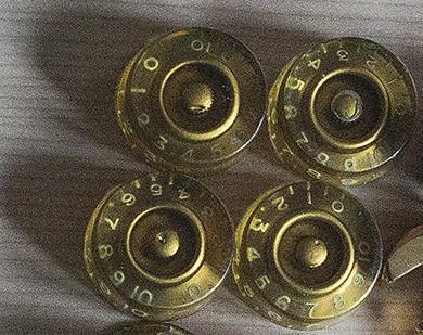 Botones  Gibson de los 90