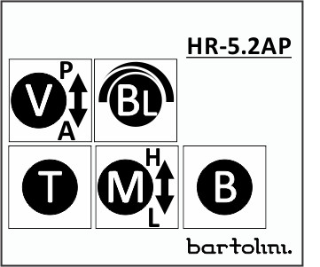 Preamp Bartolini HR 5.2 AP/918