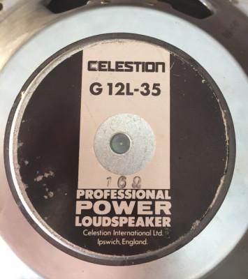 CELESTION G12L 35