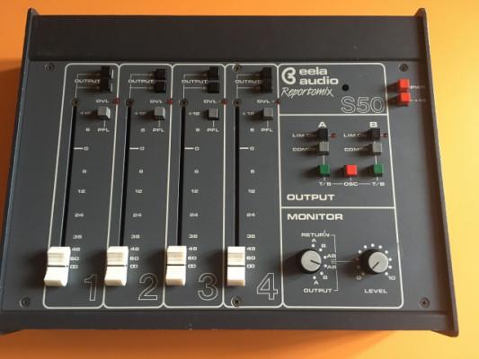 Mesa de mezclas Eela Audio Reportomix