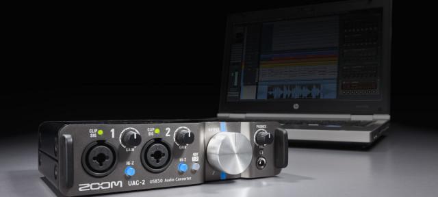 Tarjeta de Sonido Zoom UAC-2  USB 3.0