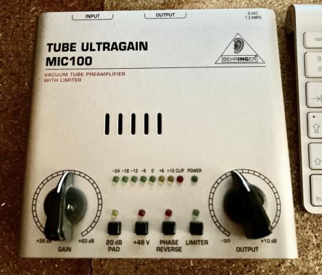 Tube Ultragain mic100