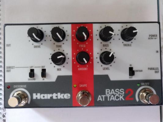 previo para bajo electrico Hartke bass attack 2 en perfecto esta