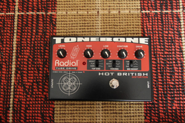 / O CAMBIO Radial Tonebone Hot British