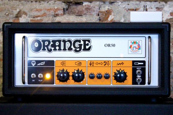 Orange OR50 MKII Amp Head Black (b-Stock)